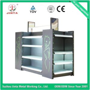 Cosmetic Product Display Shelf with Mirrors pictures & photos