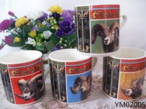 Eco-Friendly Reactive 14 Oz Ceramic Mug pictures & photos