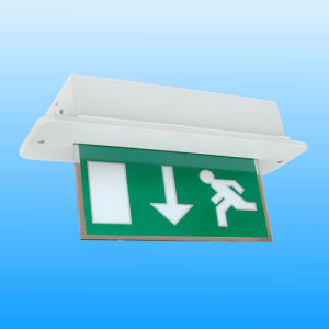 Non Maintained Rechargeable LED Exit Sign (PR808LEDM) pictures & photos