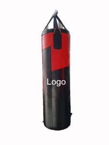 Custom Logo Empty Pu Leather Heavy Boxing Dummy Muay Thai Punching Bag
