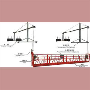 Suspended Wire Rope Platform Zlp 800 pictures & photos