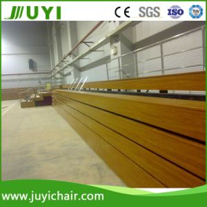 Wooden Basketball Filed Bleacher Indoor Gym Bleacher for Sale Jy-705 pictures & photos