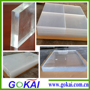 Gokai Professional Thick PMMA 50mm Acrylic Sheet Manufacturer pictures & photos