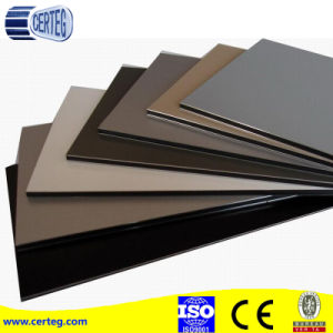 Fireproof Glossy Color ACP Aluminum Composite Panel For Wall Decoration pictures & photos