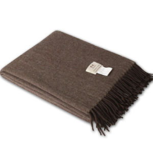 612020 100% Yak Luxury Double Side Natural Color Weave Blanket pictures & photos