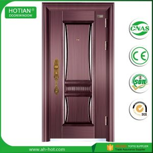 New Door Design Main Gate Wrought Iron Exterior Steel Door Made In China