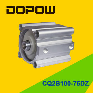 Dopow Series Cq2b100-75 Compact Cylinder Double Acting Basic Type pictures & photos