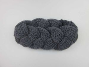 Winter Accessories-Chunky Knitted Ear Warmer Headband, Cabled Head Wrap