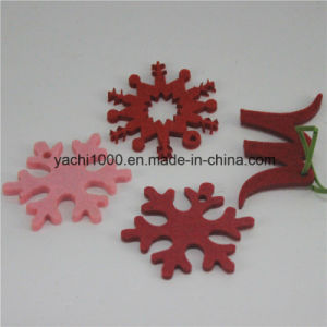 Wholesale Plush Christmas Snowflake Ornament pictures & photos