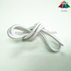 High Quality High Strength 5mm White Nylon / Polyester / PP Elastic Rope / Cord