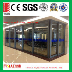 Good Soundproof Double Tempered Glass Sliding Door (HT-YY70)