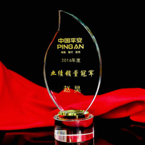 New Style Optical Crystal Award Clear Plaque Crystal Trophy pictures & photos