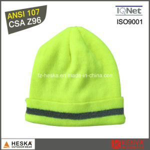 China High Visibility Warm Reflective Safety Knitted Hat - China ... c29bb7236edd