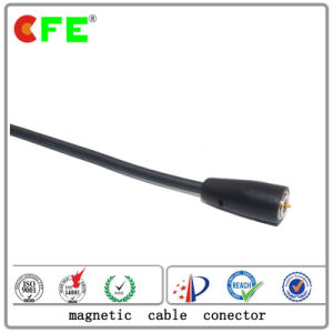DC 1pin Magnetic Cable Charging Connector pictures & photos
