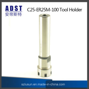 C25 ER25M 100L Collet Chuck Holder Straight Shank Wrench for CNC Milling