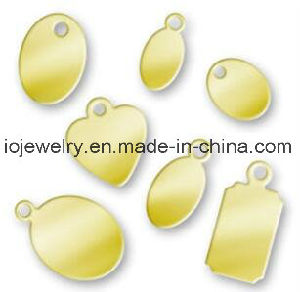 china custom engraved small logo jewelry bracelet tags china tags