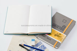 Personalized Custom Waterproof PU Leather Moleskine Notebook pictures & photos