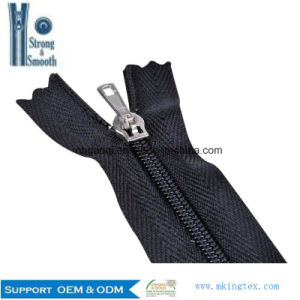 Quality Guarantee Wholesale Open-End/Close-End/Double Sliders/Invisible Plastic/Nylon Zipper for Sale pictures & photos