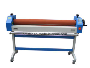 BFT-1300E 1300mm Electric/Manual Cold Roll Laminator with support stand /Cold Laminator machine pictures & photos