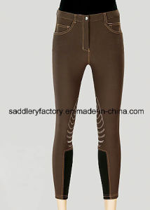 Lady Silicone Breeches for Horse Riding (SMB4002) pictures & photos