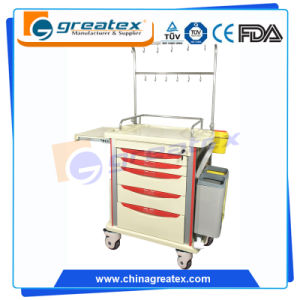 Hospital Medical Cart Infusion Support Trolley (GT-TAQ204)
