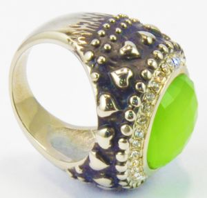 European and American Men′s Jewelry Foreign Trade Ring Crystal Black Retro Rings pictures & photos