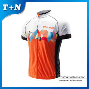 Custom Polyester Sublimation Cycling Jerseys