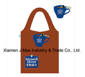 Foldable Shopping Bag, Promotion Bags, Coffee Cup Style, Reusable, Lightweight, Grocery Bags and Handy, Gifts, Promotion, Tote Bag, Decoration & Accessories pictures & photos