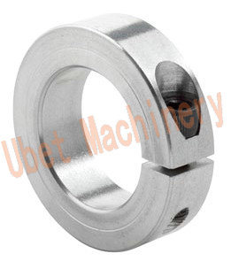 Single Split Stainless Steel Shaft Clamping Collars with Hex Socket Set Screw pictures & photos