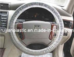 High Quality Plastic PE Car Steering Wheel Cover pictures & photos