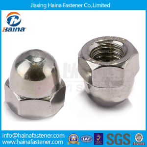 Stock DIN1587 Stainless Steel Hex Cap Nuts pictures & photos