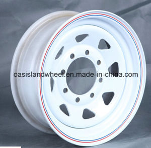 (15X7 15X8 16X7 16X8) Steel Trailer Wheel for Trailer Tyre pictures & photos