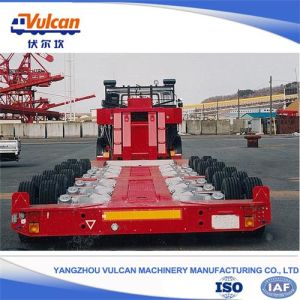 Heavy Duty Axles Hydraulic System Modular Semi Trailer