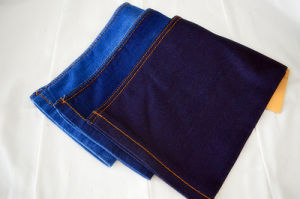 Spandex Cotton Denim Fabric Weight 8.8oz for Garment Use