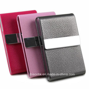 Premium Leather Name Card Holder for Business Gift