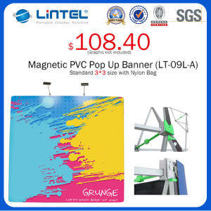 Portable Aluminum Banner Stand Magnetic Pop up (LT-09L-A) pictures & photos