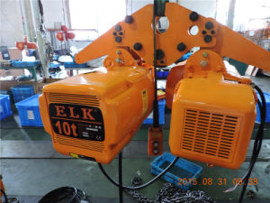 10ton Hoist/Electric Chain Hoist with Hook /Friction Clutch Hoist (HKD1004S) pictures & photos