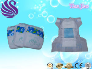 Cheap Price Baby Diaper with White PE Film pictures & photos