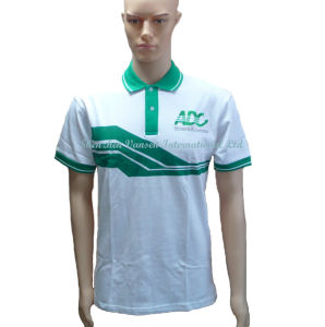 Custom Cotton Printing Polo T Shirt with Embroidery Logo pictures & photos
