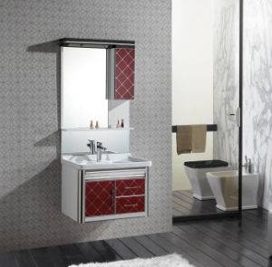 PVC&Stainless Steel Cabinet for Bathroom CE Certificate (W-356)