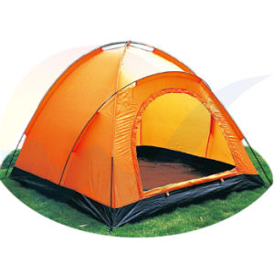 Orange Camping Family Tent / Outdoor Beach Tent