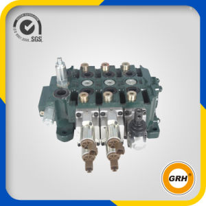 China OEM Hydraulic Main Multi-Way Control Valve for Excavator pictures & photos