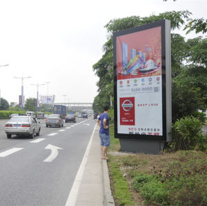 Outdoor Poster Scrolling Kits LED Lighting Advertising Light Box pictures & photos