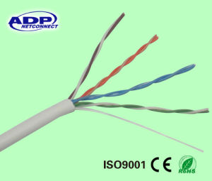 LSZH White Color 24AWG Cat5e LAN Cable pictures & photos