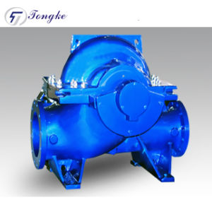 Horizontal Double Suction Split Casing Centrifugal Pump for Hydraulic Projects pictures & photos
