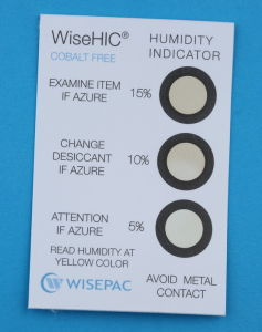5%-15% Copper Cobalt Free (HIC) Humidity Indicator Card (WiseHIC) pictures & photos