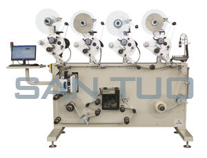 Roll to Roll Printing and Labeling Machine/Labeler