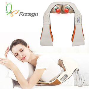 Massage Belt Rechargeable Heating Kneading Massager pictures & photos