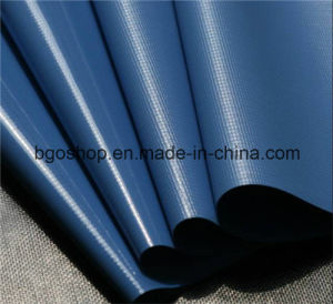 PVC Laminated Tarpaulin Printing Waterproof Fabric (500dx500d 18X12 460g) pictures & photos