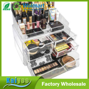 Stackable Interchangeable Acrylic Cosmetics Makeup and Jewelry Storage Case pictures & photos